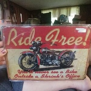 Other - Metal sign